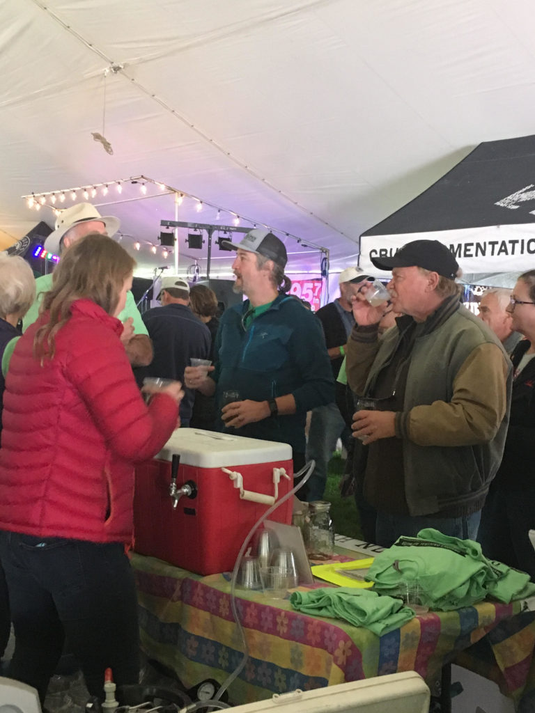 1st Fresh Hop Festival that we participated in (Sisters Oregon)